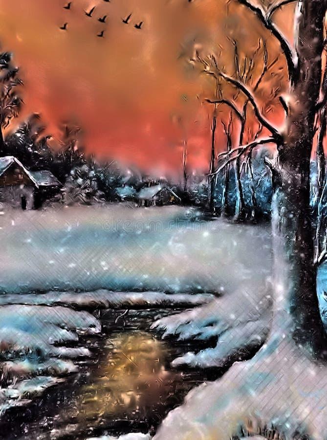 Winter Background 4 stock photos