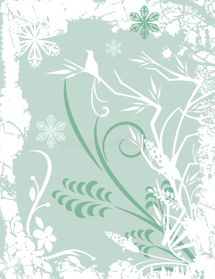 Winter background series royalty free illustration