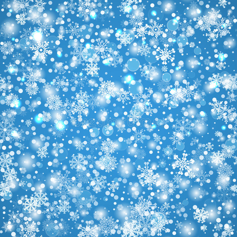 Winter background with snow. Christmas snow banner. Vector vector illustration