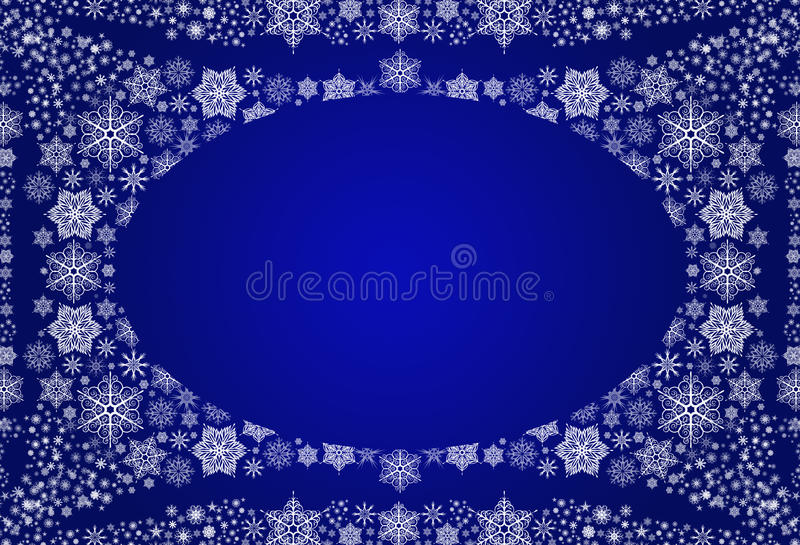 Download Winter Background With Snowflakes Stock Illustration - Illustration: 17843164