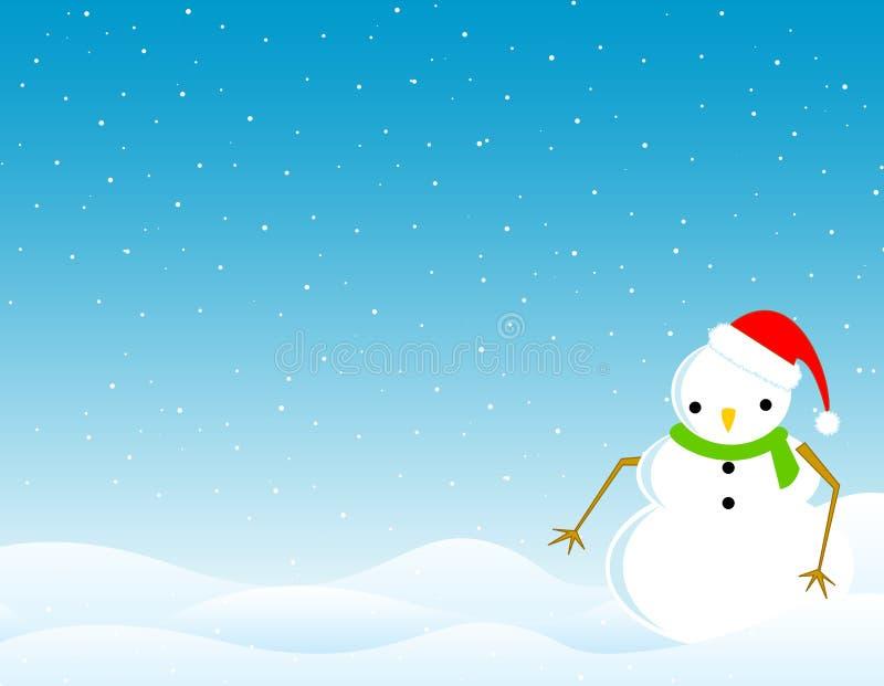 Winter Background /wallpaper royalty free illustration
