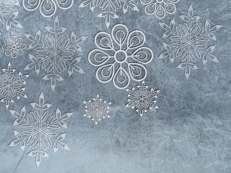 Winter backrounds stock illustration