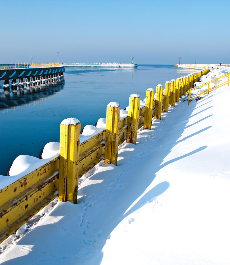 Download Winter Baltic Jetty Stock Image - Image: 12574201
