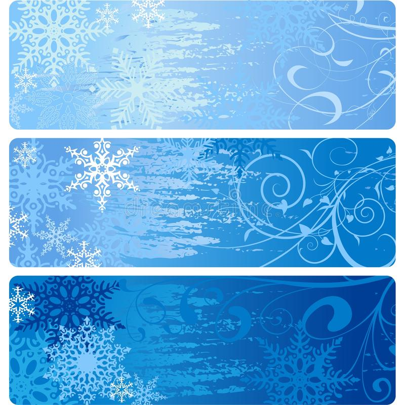 Download Winter Banners stock vector. Image of holiday, effect - 26524318