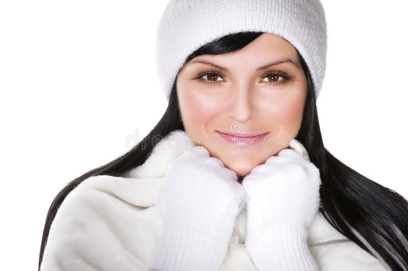 Download Winter beauty stock image. Image of portrait, seasonal - 11008737