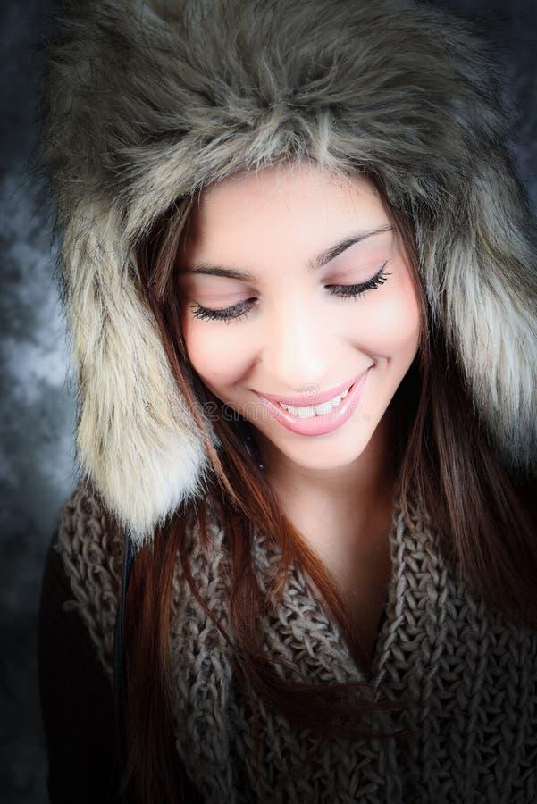 Winter beauty stock image