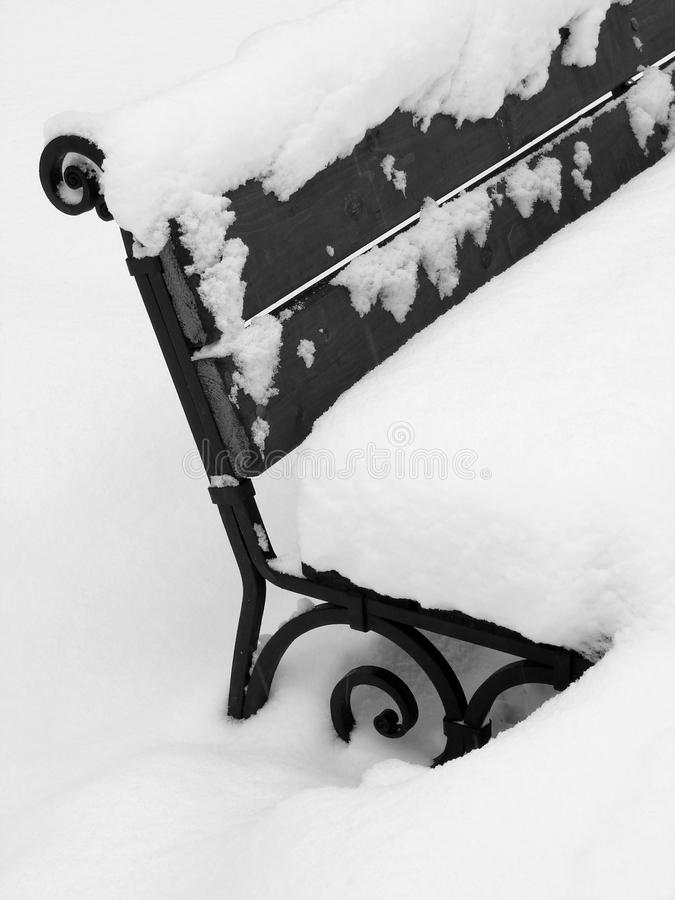 Download Winter Bench Royalty Free Stock Photo - Image: 12502855