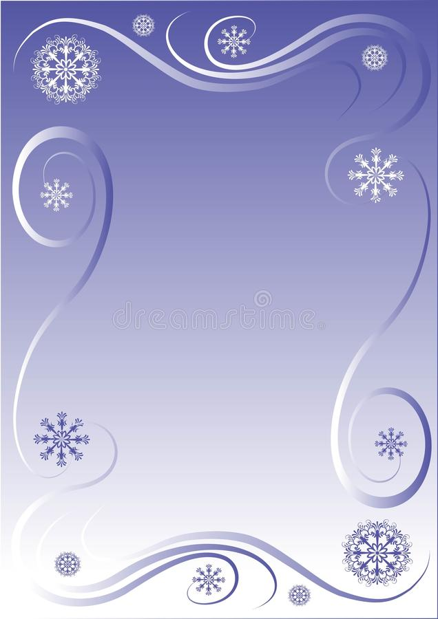 Free Winter Border Royalty Free Stock Images - 12060799