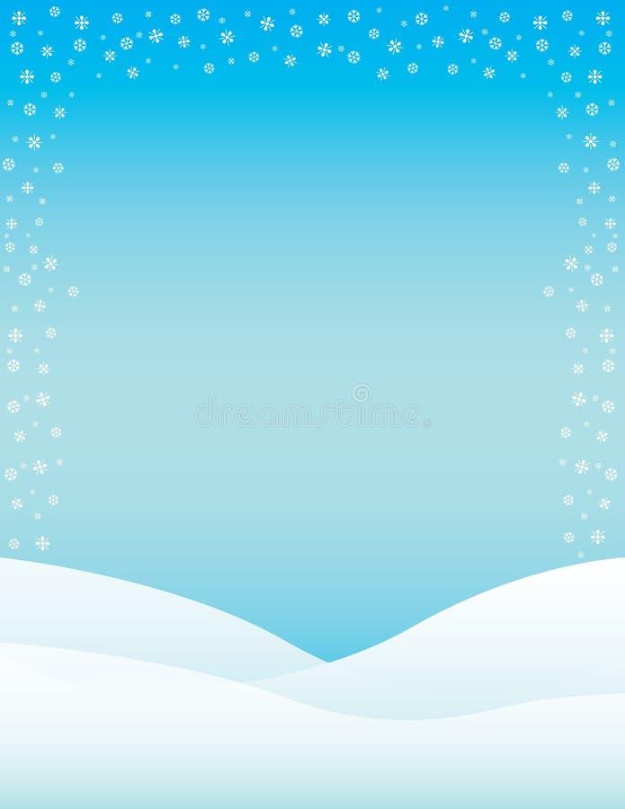 winter brochure background stock illustration  image of