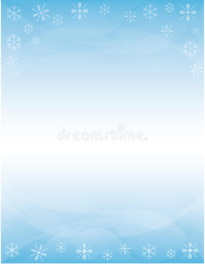 Winter Brochure Background Stock Illustration Illustration Of Flyer