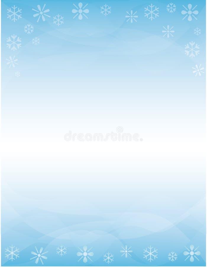 Winter Brochure Background Stock Illustration Illustration Of Flyer