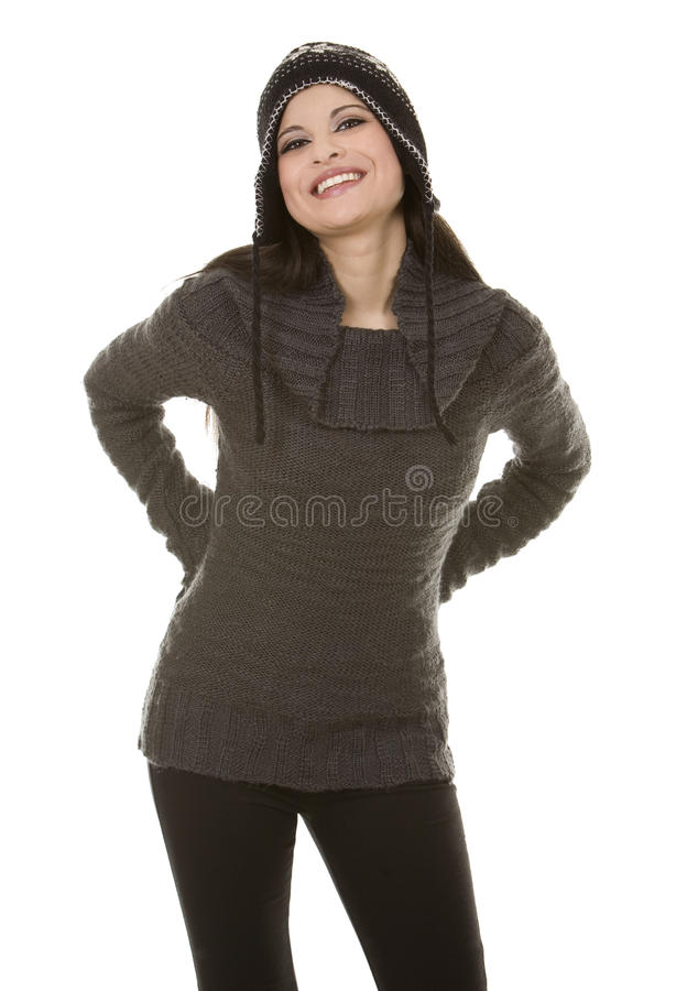 Download Winter Brunette Royalty Free Stock Photo - Image: 21281275