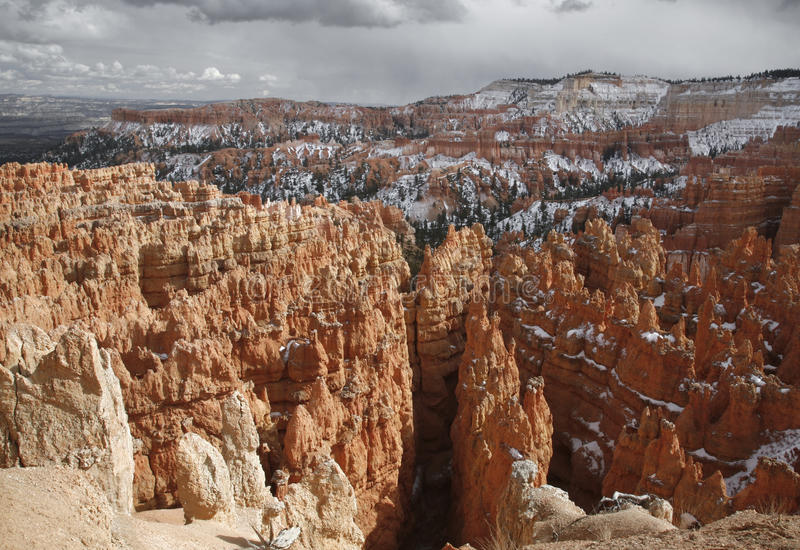 Download Winter At Bryce Canyon stock image. Image of vacation - 10615999