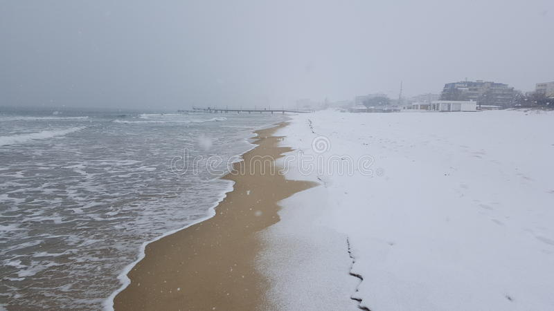 Winter of Bulgaria stock images