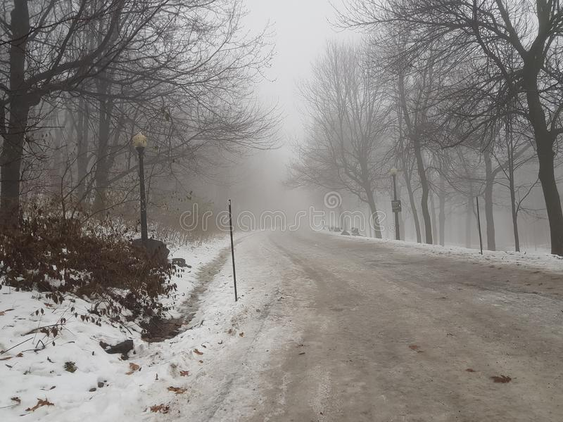 Winter in CanadÃ-¡ lizenzfreie stockfotografie