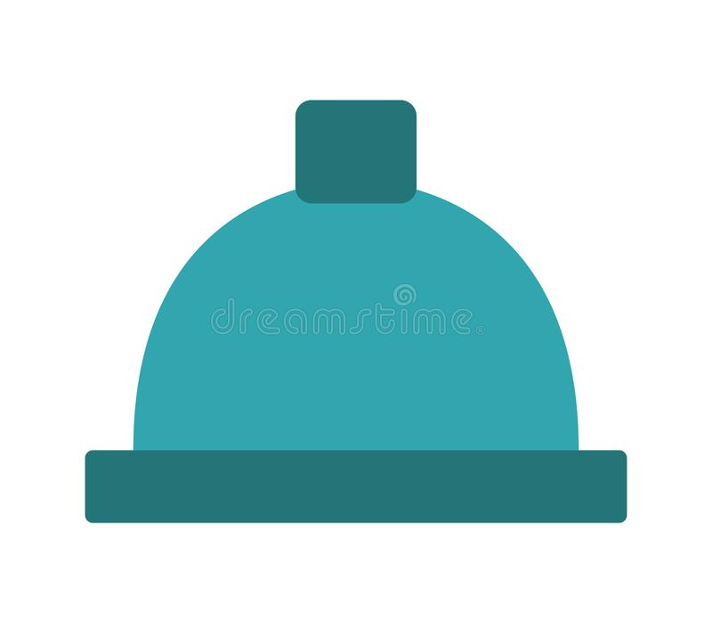 Winter cap icon royalty free stock photo