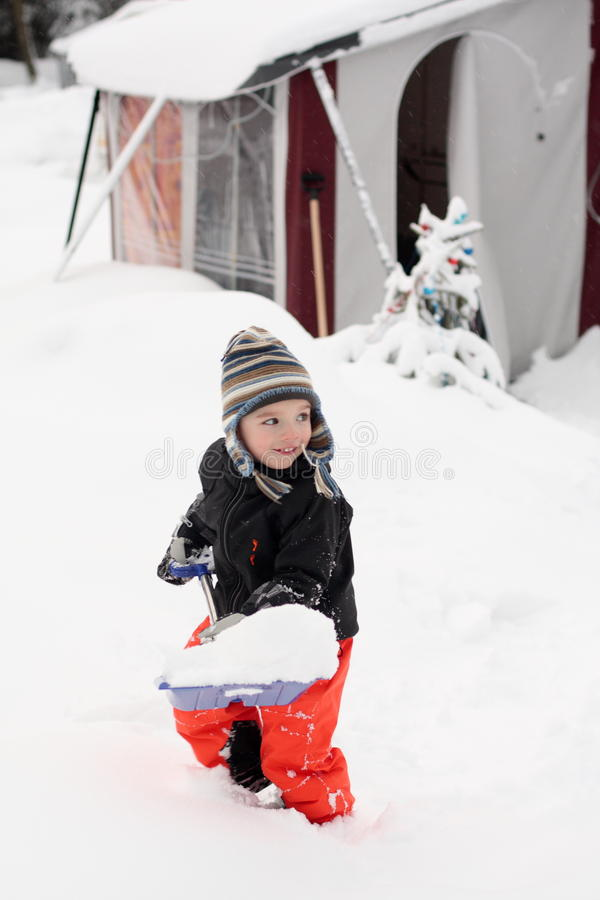 Download Winter caravan stock photo. Image of winter, baby, child - 23229274