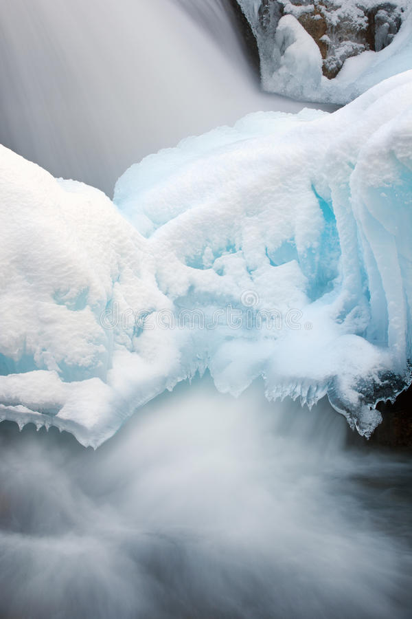 Download Winter Cascade and Ice stock image. Image of cascade - 29185727