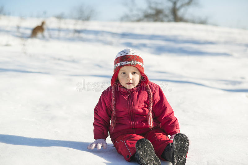 Download Winter child stock image. Image of winter, white, nature - 28536381