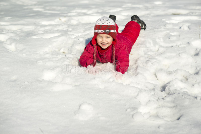 Download Winter child stock image. Image of playing, playful, funny - 28536657