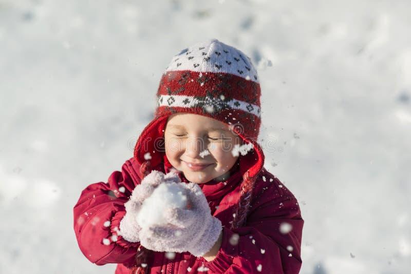 Winter Child Stock Photos