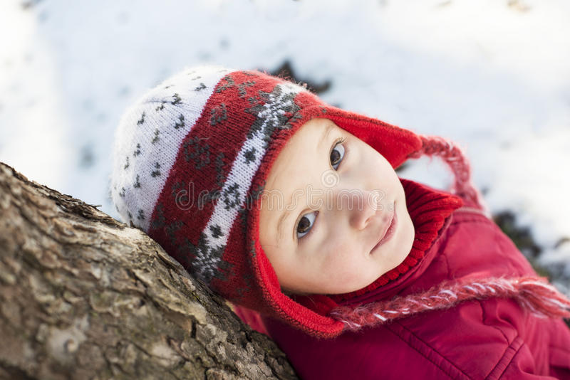 Download Winter child stock photo. Image of happiness, play, outdoor - 28537366