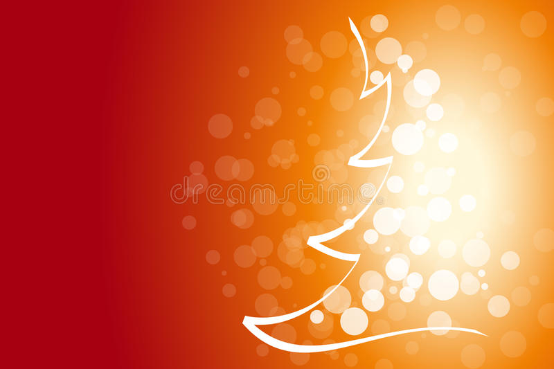 Winter and Christmas background stock photo