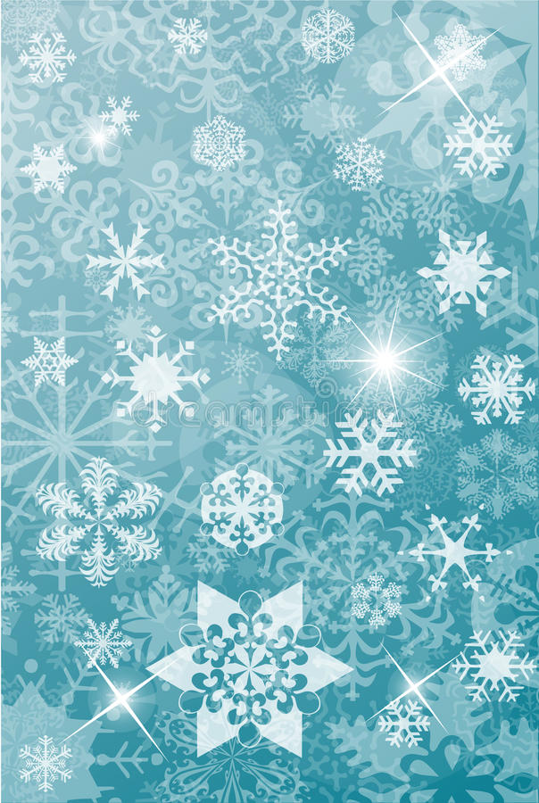 Download Winter Christmas Background Stock Vector - Illustration of curl, postcard: 18150341