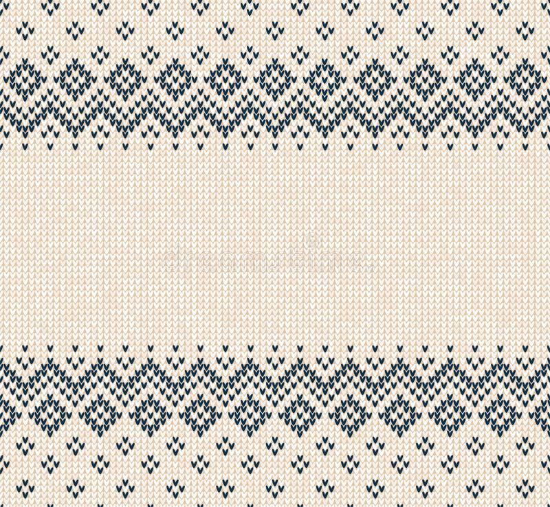 Winter Christmas Scandinavian Knitted Seamless Abstract Background ...