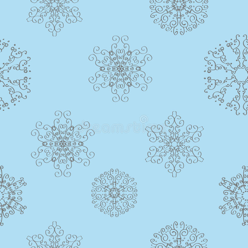Download Winter Christmas New Year Seamless Pattern Stock Vector - Image: 21406875