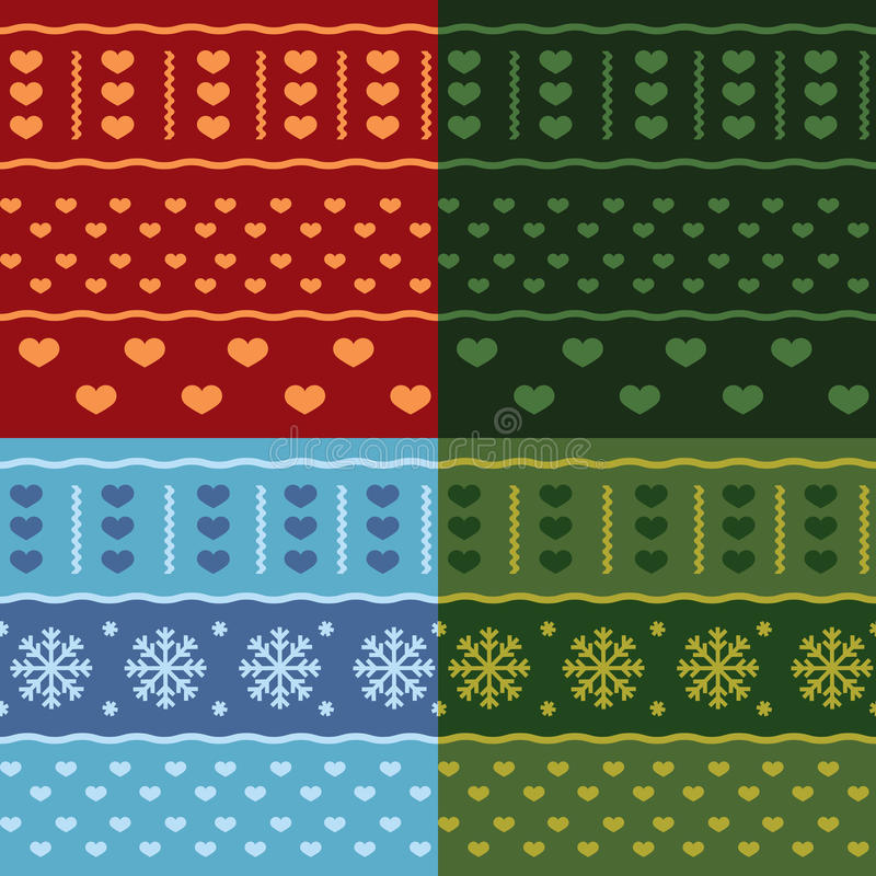Download Winter Christmas Seamless  Pattern Stock Vector - Image: 26465528