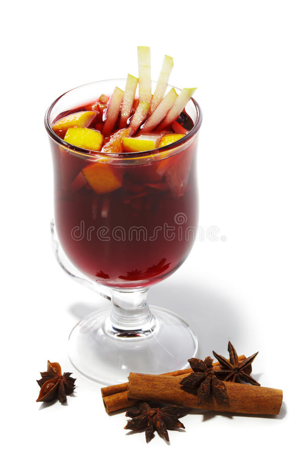 Free Winter Cocktail -Mulled Wine Royalty Free Stock Photos - 11221048