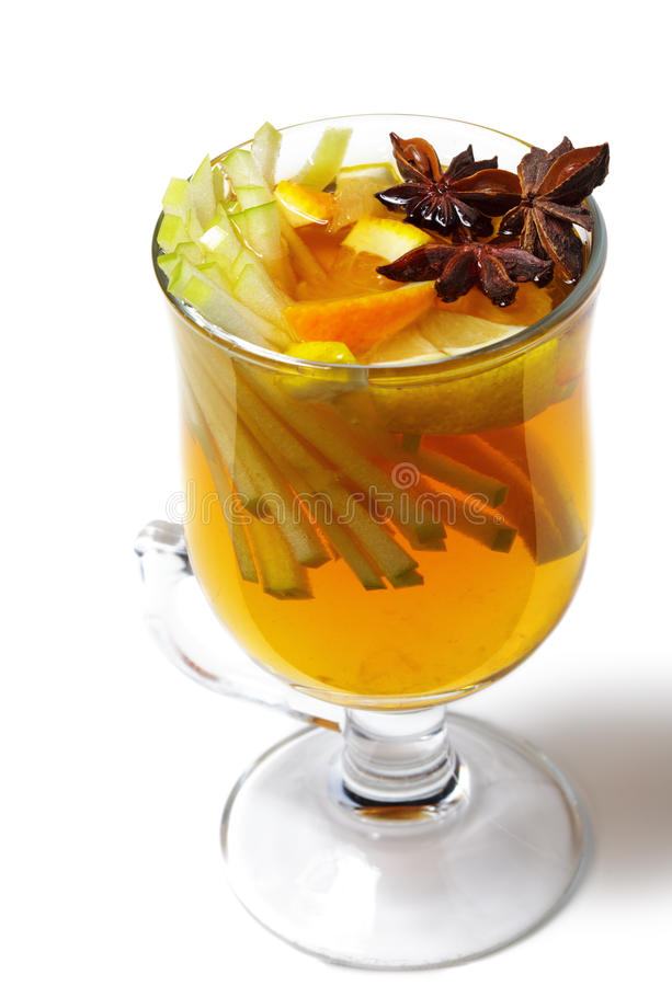 Download Winter Cocktail -Mulled Wine Stock Photo - Image: 11221544