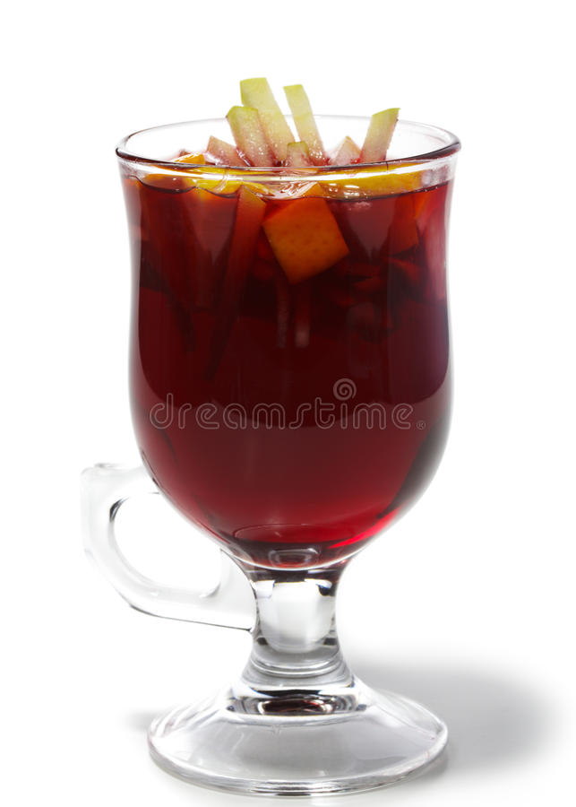 Download Winter Cocktail -Mulled Wine Stock Image - Image of cocktail, glass: 11222855