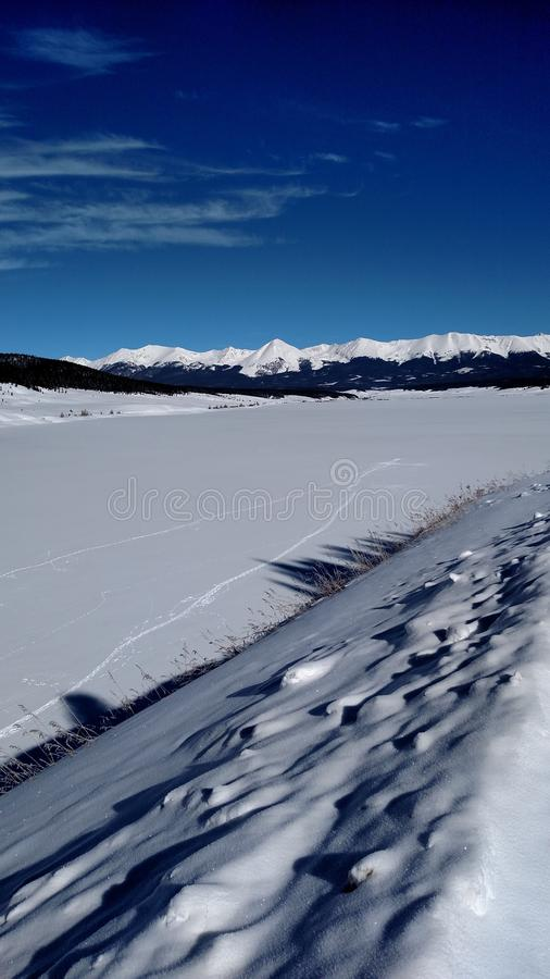 Winter Colorado royalty free stock photos