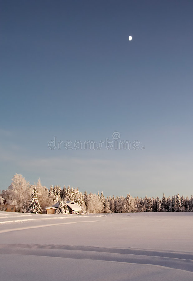 Download Winter countryside stock image. Image of powder, lonely - 463845
