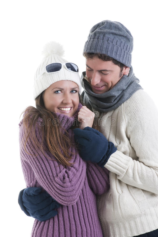 Download Winter Couple stock image. Image of clothes, love, portrait - 16867103