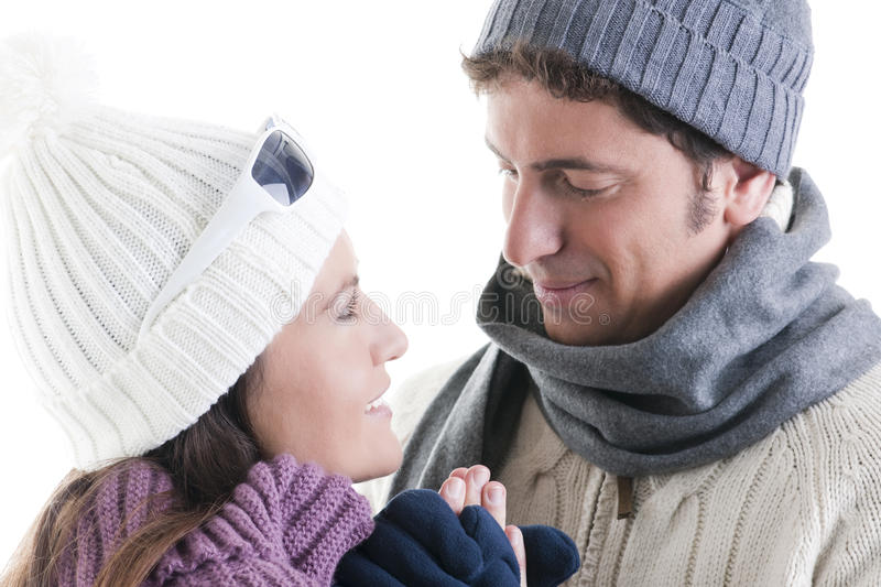 Download Winter Couple Stock Photography - Image: 16867202