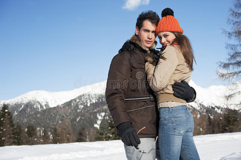 Download Winter couple stock photo. Image of happiness, season - 27532294