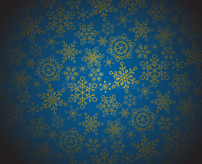 Winter - Dark Christmas Pattern Royalty Free Stock Photography
