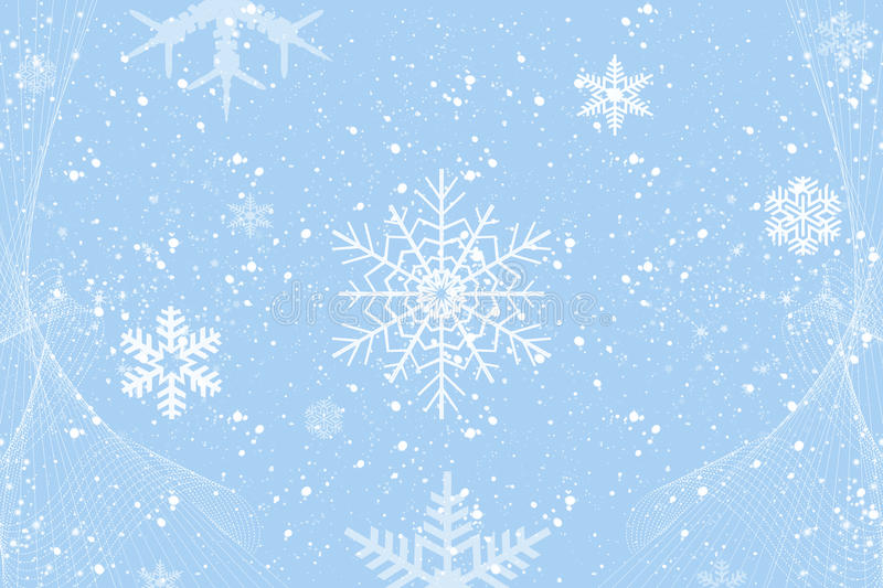 Winter decoration stock photography
