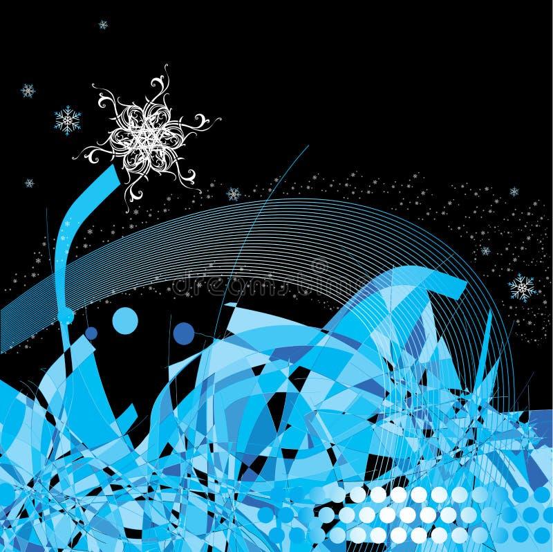 Winter decorative illustration royalty free stock photos