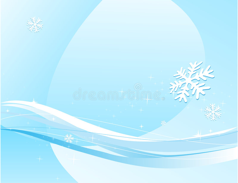 Winter Decorative Illustration Royalty Free Stock Photography