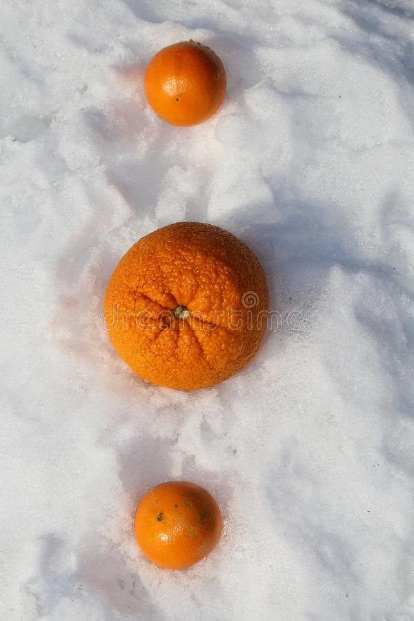 Winter des Vitamin-c und Orangenkälte- und -Grippe-Saison-Geschichte lizenzfreies stockfoto