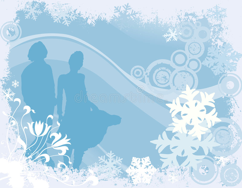Download Winter design stock vector. Image of frame, greeting, teenager - 2996842