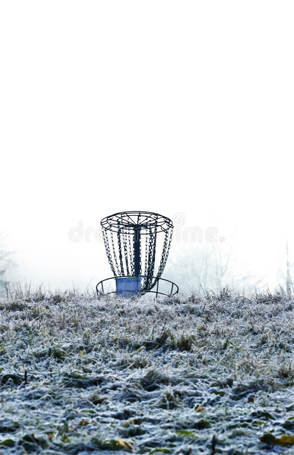 Free Winter Disc Golf Royalty Free Stock Photography - 12989677