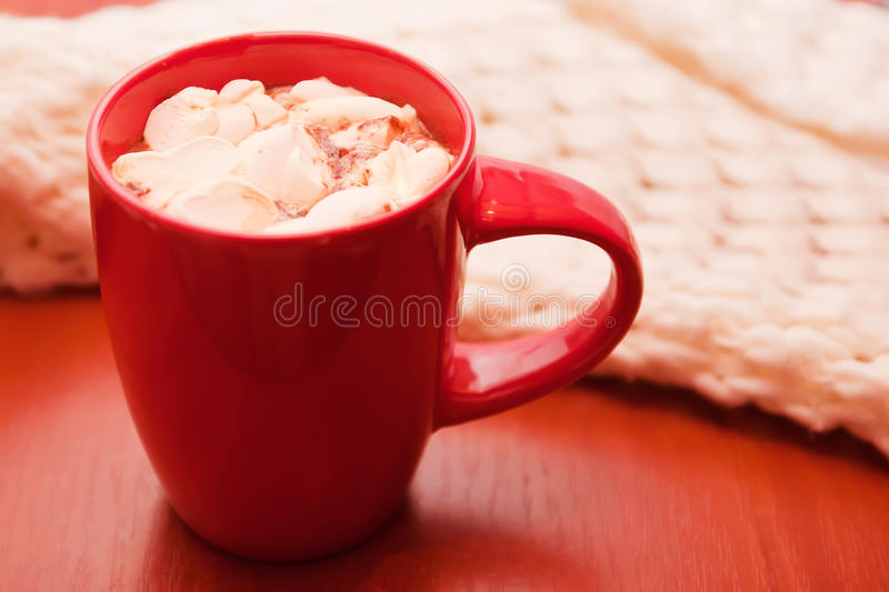 Download Winter drink stock image. Image of marshmallow, relaxation - 28034669