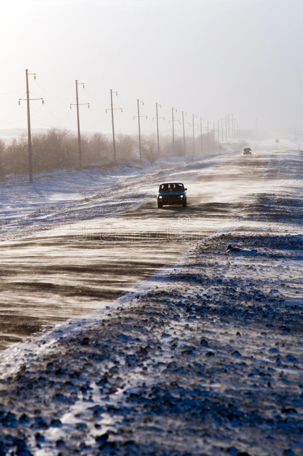 Download Winter Driving stock photo. Image of snow, convoy, conditions - 18111894