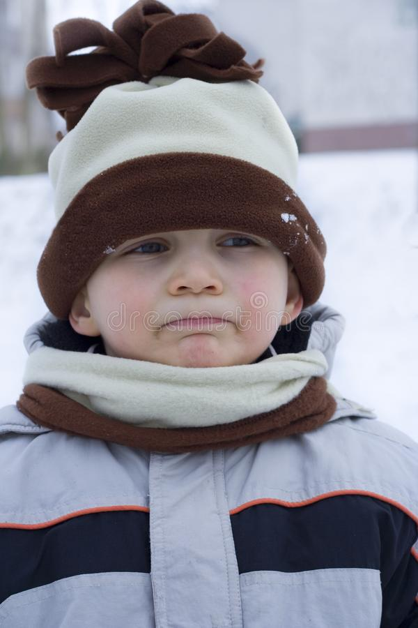 Winter dwarf royalty free stock images