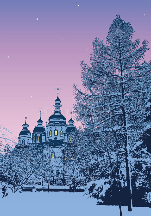 Download Winter Evening Stock Photography - Image: 16675722